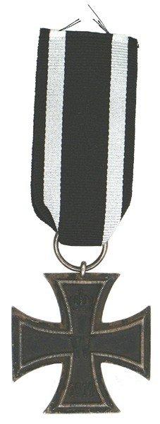 7: German 1914 Iron Cross 2nd Class medal
