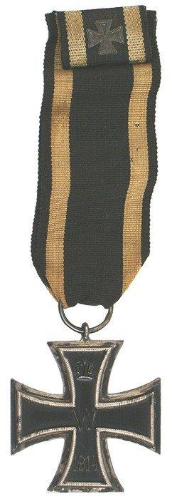 8: German 1914 Iron Cross 2nd Class medal