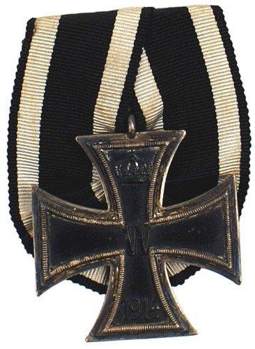 9: German 1914 Iron Cross 2nd Class medal
