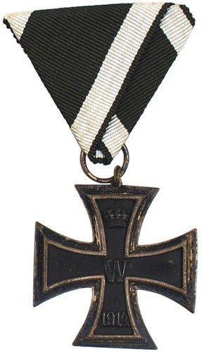 10: German 1914 Iron Cross 2nd Class medal