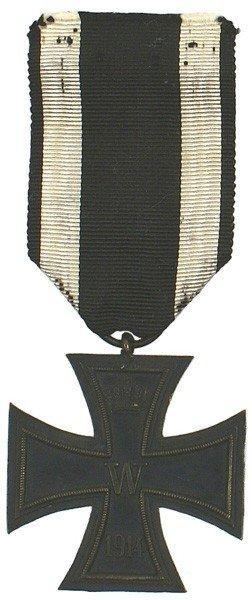 11: German 1914 Iron Cross 2nd Class medal