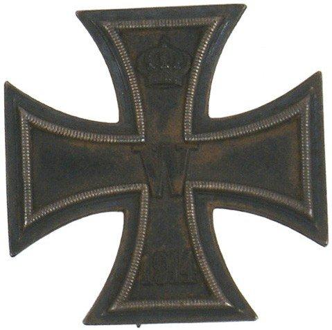 12: German 1914 Iron Cross 1st Class medal