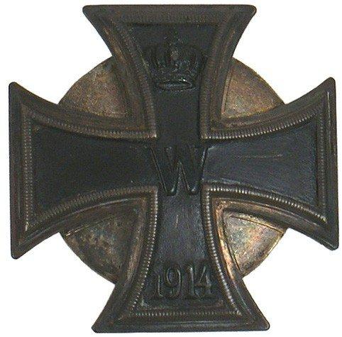 13: German 1914 Iron Cross 1st Class medal