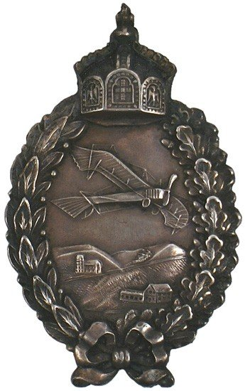 19: Imperial Prussian WWI Pilot Badge medal