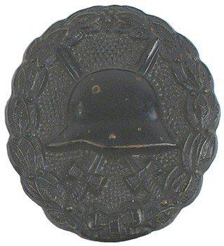 23: German WWI Black Wound Badge medal