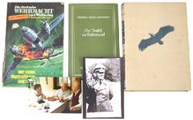 317 Lot of 3 German WWII books Hitler Pilot Baur