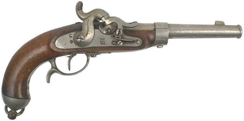 10: Prussian M1850 percussion cavalry pistol