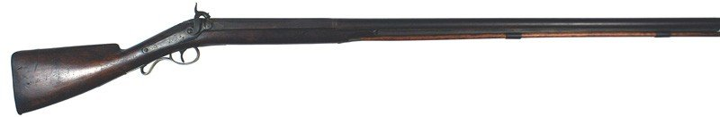 15: European percussion single barrel shotgun