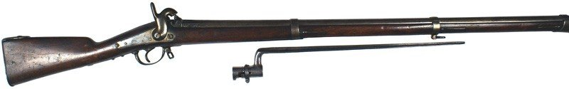 19: Civil War Belgian import percussion musket