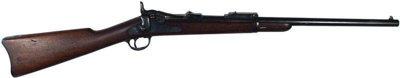 22: U.S. Model 1884 U.S. trapdoor carbine