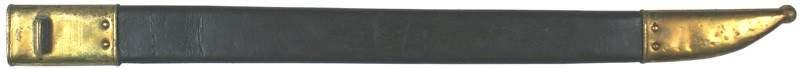 96 Scabbard M1860 Sharps Rifle saber bayonet