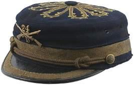 142: Spanish-American War Period military musician cap