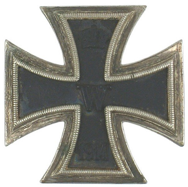 6: German WWI 1914 Iron Cross 1st Class medal