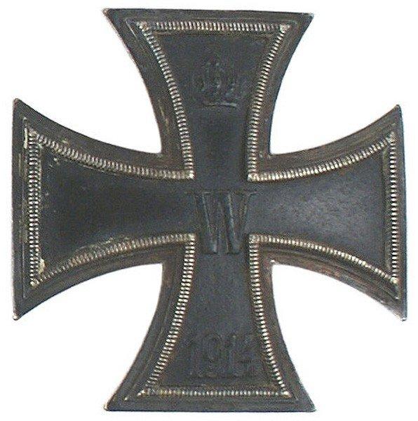 7: German WWI 1914 Iron Cross 1st Class medal