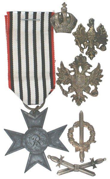 16: German medal Lot WWII War Help Cross etc