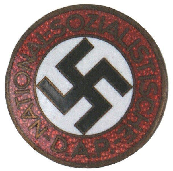 18: German WWII NSDAP member pin