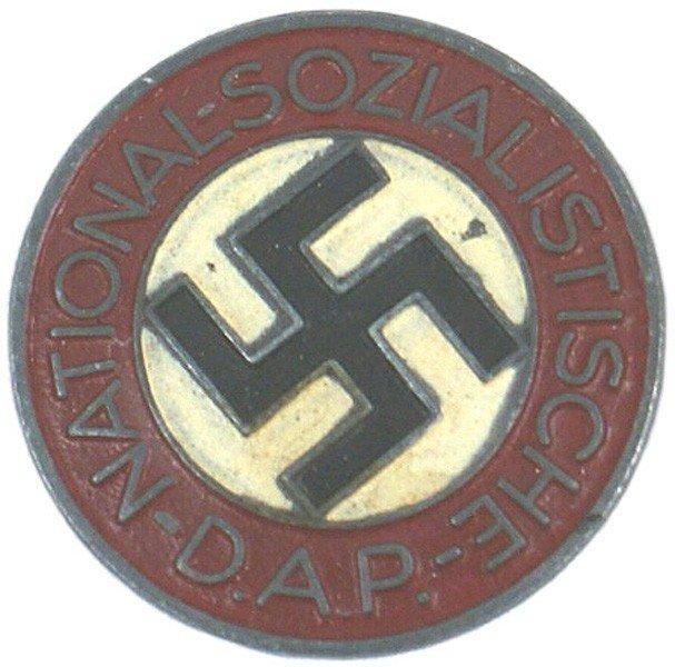 20: German WWII NSDAP member pin