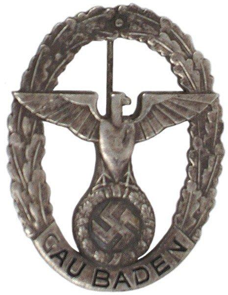 23: German WWII Gau Baden Commemorative Badge