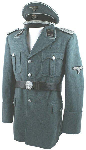 277: Rare offering of the uniform of  Otto Skorzeny