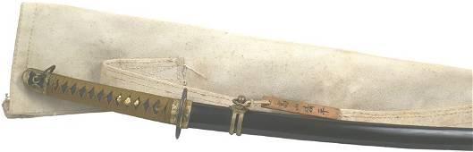 352: Japanese WWII Navy katana Samurai sword