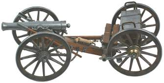 763 Model of a US Civil War Napoleon cannon