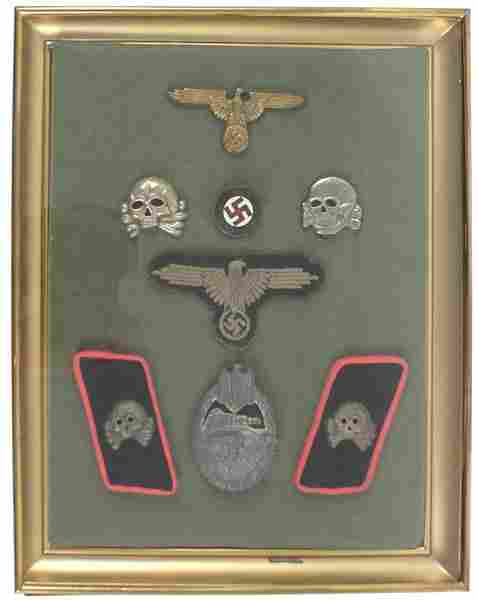 785: Reproduction and original German WWII medals