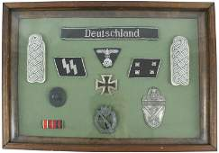 786: Reproduction and original German WWII medals