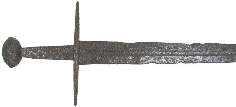12: A German knight's sword Circa 1200
