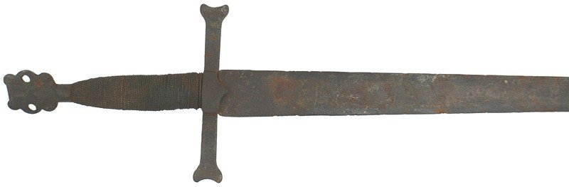 15: European 14-15 century Church sword