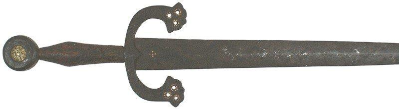 18: 16th century Spanish left-handed dagger