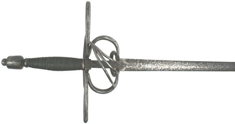 20: European swept hilt rapier sword