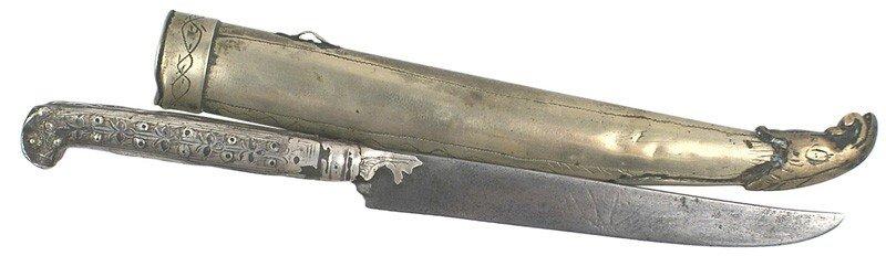 24: Caucasus yataghan style knife