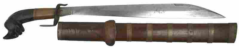41 Interesting South Pacific short sword type weapon