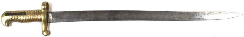 98: Unknown Civil War sword-bayonet