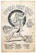 248 US WWI pen and ink poster
