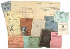 263 Grouping of German WWII ID booklets