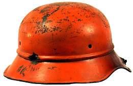 343: German WWII Luftschutz helmet
