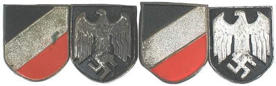 457 German WWII Afrika Korps pith helmet shields