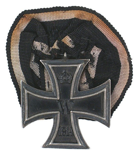 4: German 1914 Iron Cross 2nd Class