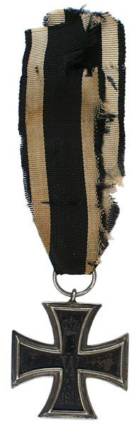7: German 1914 Iron Cross 2nd Class