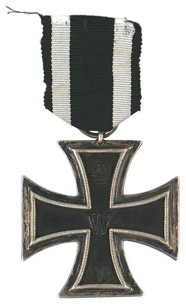 9: German 1914 Iron Cross 2nd Class