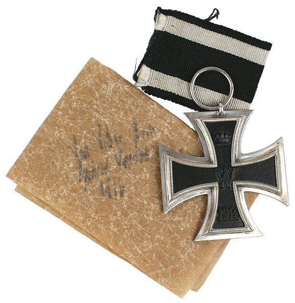 10: German 1914 2nd Class Iron Cross and history