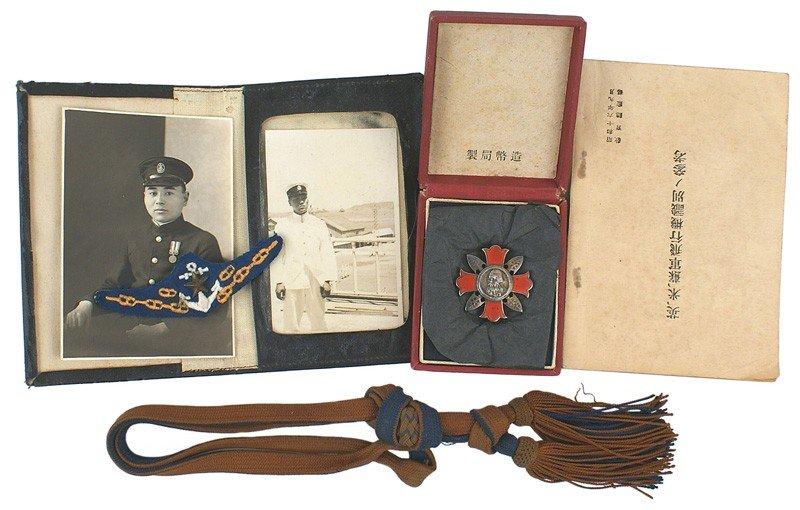 315: Japanese Navy WWII memorabilia Pearl Harbor - 3