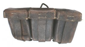 German WWI 3-compartment Cartridge Box