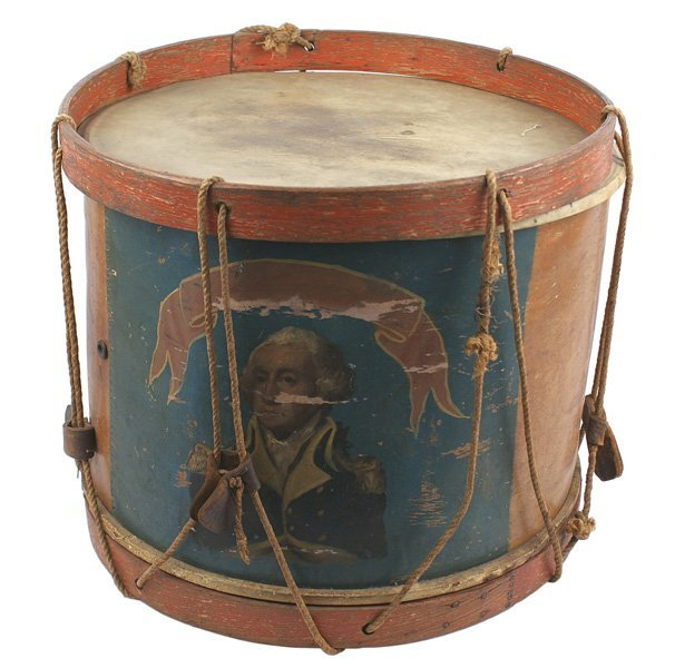 132: Pre-Civil War era snare drum