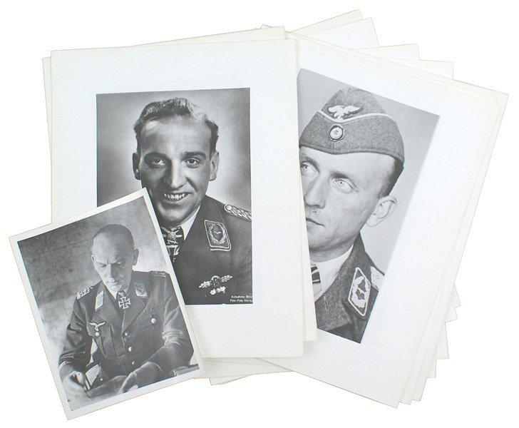 307: German WWII lot letters etc  Waffen-SS - 2