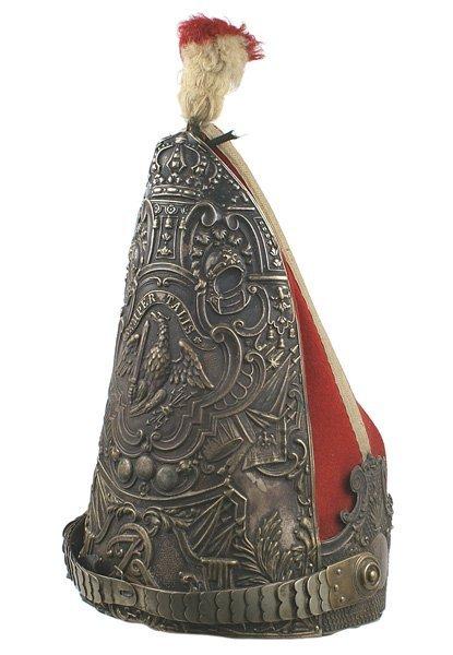 359: Prussian 1st Garde Regiment Foot miter helmet
