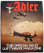655 German WWII book DER ADLERGerman WWII book