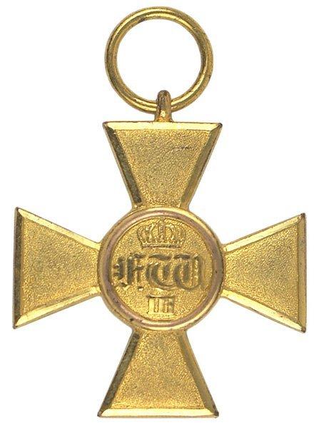 9: German Prussian 25-yr. Service Cross medal