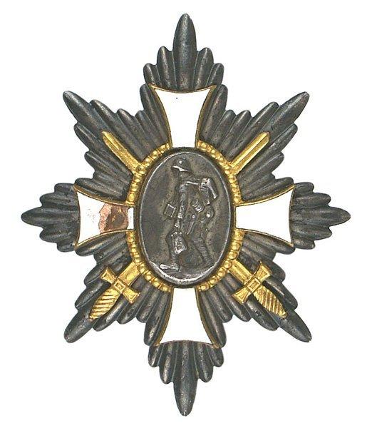 17: German WWI Hindenburg Hamburg Cross medal
